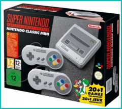 Nintendo Classic Mini: Super Nintendo Entertainment System (20 игр в комплекте)