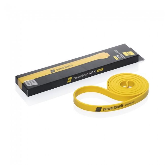 Продукция Let's Bands Эспандер-лента POWERBANDS MAX (легкое сопротивление, желтая) max-yellow-box-01_1.jpg