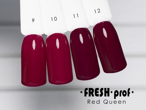 Гель лак Fresh Prof Red Queen 10мл R12