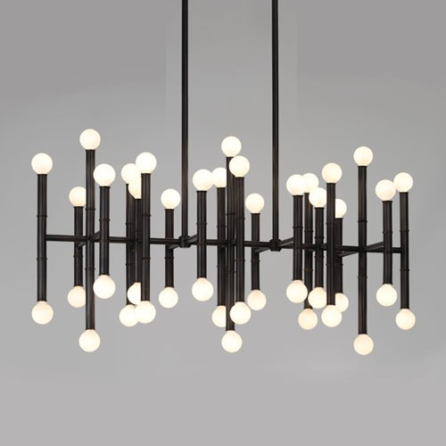 Meurice Rectangular Chandelier 4