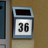 Указатель номера дома с подсветкой