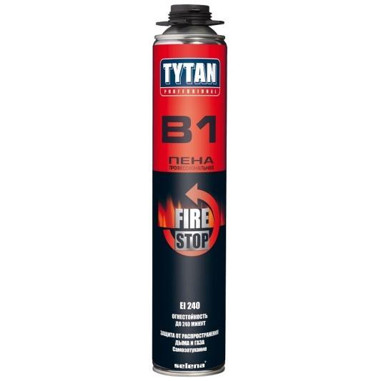 Пена монтажная огнестойкая Tytan Professional Fire Stop B1 / Титан Профессионал
