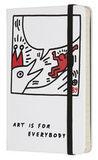 Блокнот Moleskine Limited Keith Haring Pocket 90x140мм 192стр линейка белый (LEKH01MM710)