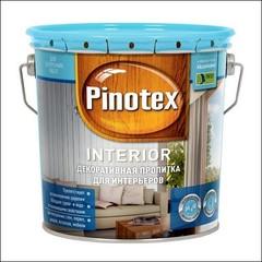 Средство для отделки древесины Pinotex INTERIOR (калужница)
