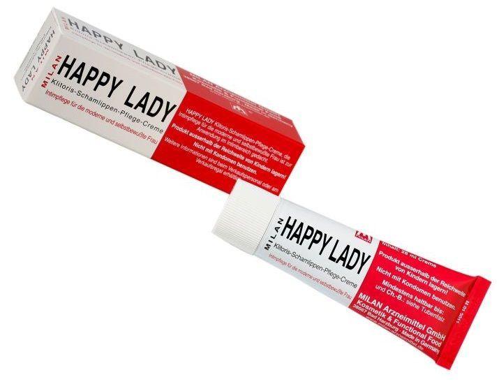 Возбуждающие: Возбуждающий крем для женщин Happy Lady - 20 мл.