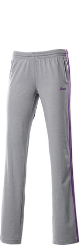 Женские брюки Asics W's Jersey Warm Up Pant grey (112804 0714)