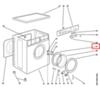 Обрамление люка внутреннее для стиральной машины Indesit (Индезит) 041056