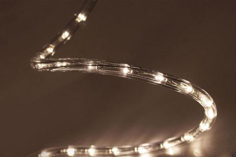 Уличный светодиодный теплый белый шланг дюралайт 100 метров led