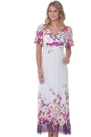 Платье 05547 белый