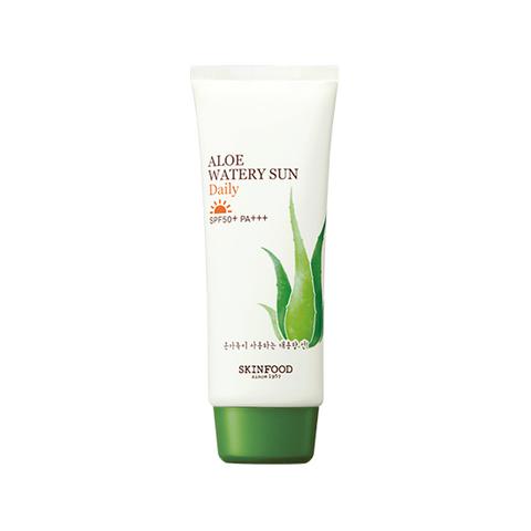 Солнцезащитное средство SKINFOOD Aloe Watery Sun Daily SPF50+ PA+++ 100ml