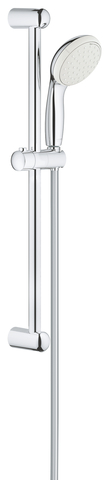 New Tempesta II Душевой гарнитур, душевая штанга 600 мм, 9,5 л/мин