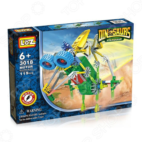 Конструктор LozToys Динозавры Птерозавр (3018)