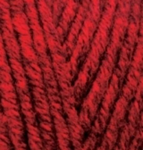 Пряжа Superlana MIDI 802 красный жаспе Alize
