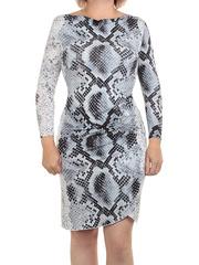 77-1 платье женское, серое