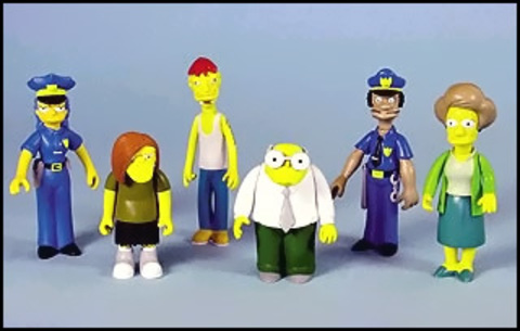 The Simpsons Figures Series 07