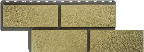 Фасадная панель Альта Профиль Камень неаполитанский Песчаный 1250х450 мм