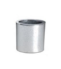 Стакан для зубных щеток Windisch 91306 Oval Silver