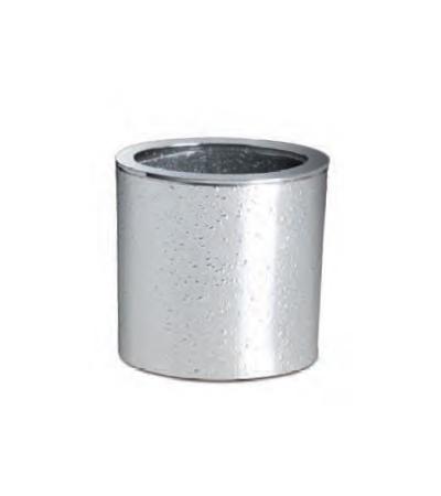 Стаканы для зубных щеток Стакан для зубных щеток Windisch 91306 Oval Silver stakan-dlya-zubnyh-schetok-91306-oval-silver-ot-windisch-ispaniya.jpg