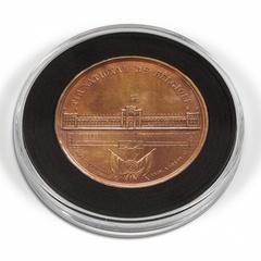 Капсула для больших монет или медалей XL с наборной вставкой и возможностью менять внутренний диаметр