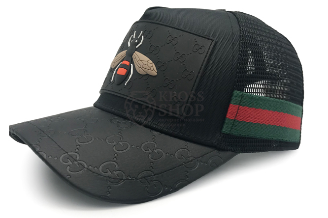 Бейсболка Gucci Bee Black