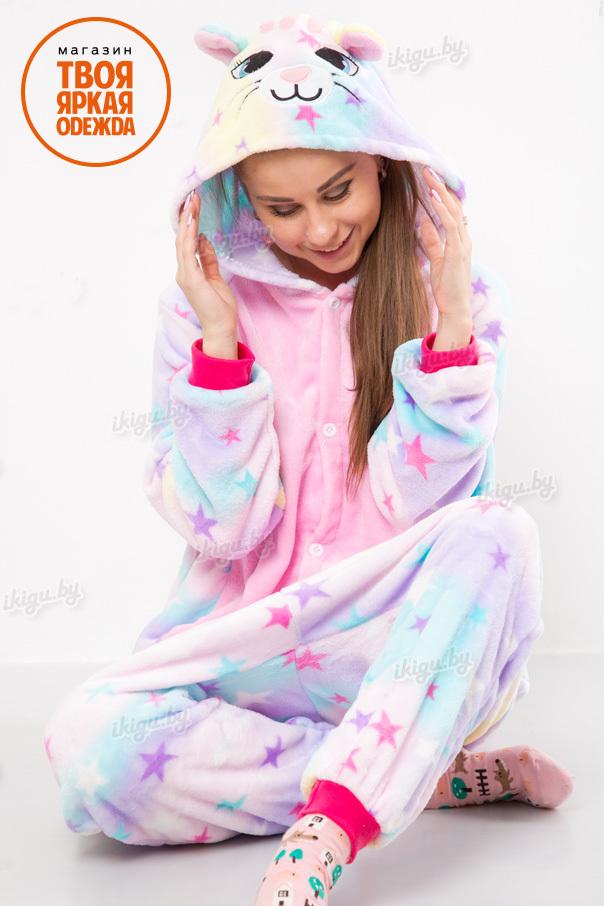 Пижамы кигуруми (рост от 140 до 187 см) Звездная кошка zv-koshka.jpg