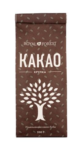 Какао-крупка 200г. (Royl forest)