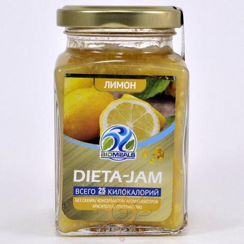 Джем диетический лимонный Biomeals, 230г