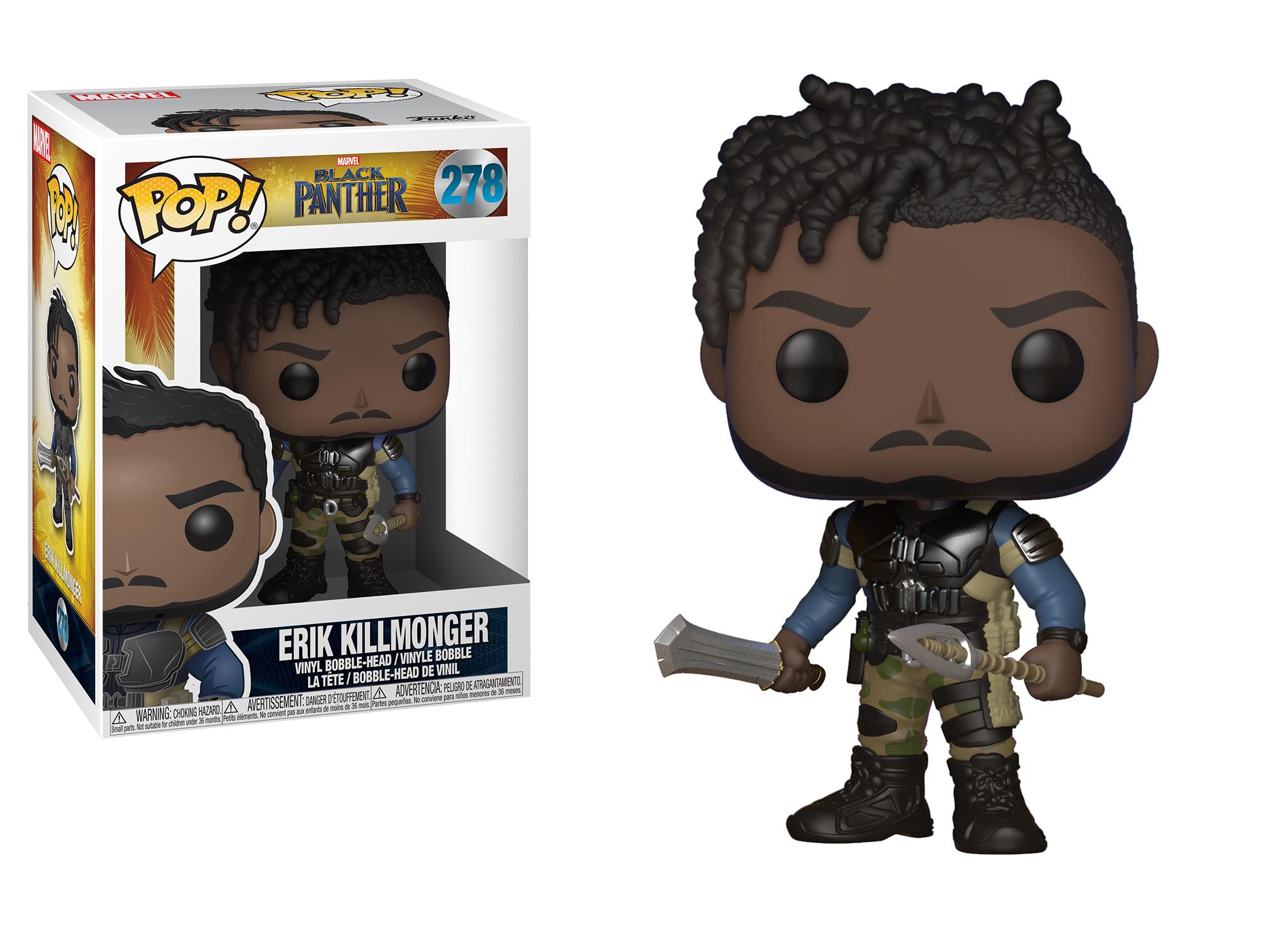 Фигурка Funko POP! Bobble: Marvel: Black Panther: Killmonger 23350