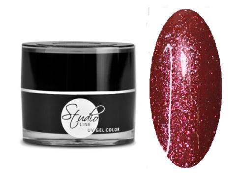 NeoNail Гель Glitter №5925 Red Tourmaline 5 гр.