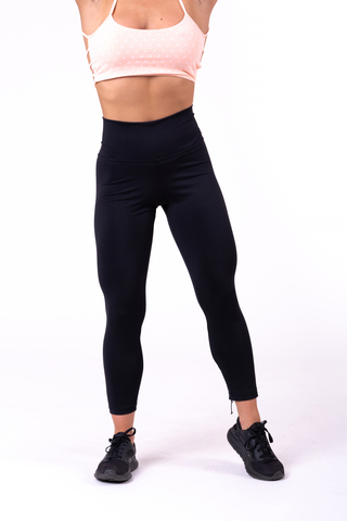 Женские лосины Nebbia lace-up 7/8 leggings 661 black
