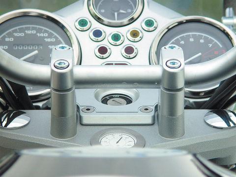 Проставки руля 25 мм BMW R1200/1150/800R/1150R Rockster
