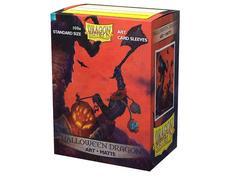 Dragon Shield - Матовые протекторы Halloween Dragon 100 штук