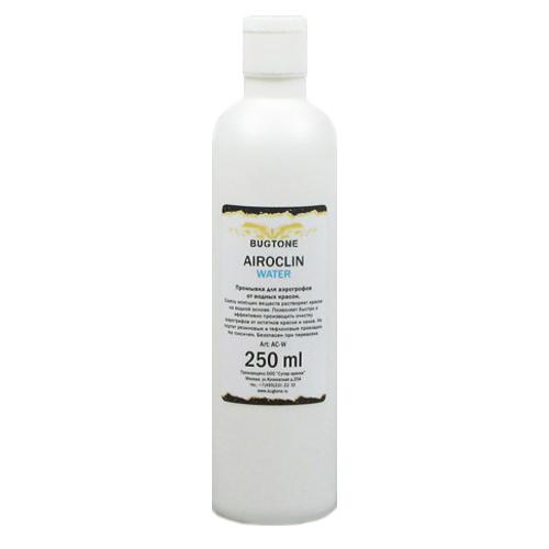 Вспомогальные жидкости Airoclin Water Жидкость Промывочная для Аэрографов, 250 мл Bugtone ACW.jpg