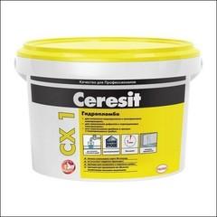 Блиц-цемент для остановки водопритоков CERESIT CX 1 быстросхватывающийся (серый)