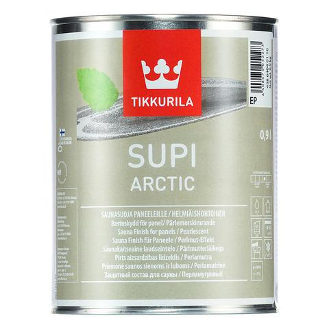 Tikkurila Supi Arctic/Тиккурила Супи Арктик перламутровый защитный состав для бань