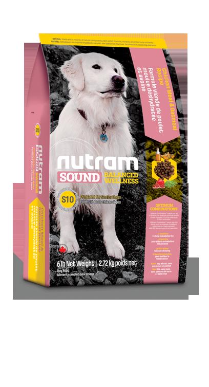 Сухой корм Корм для пожилых собак Nutram S10 w3sut03fg233.png