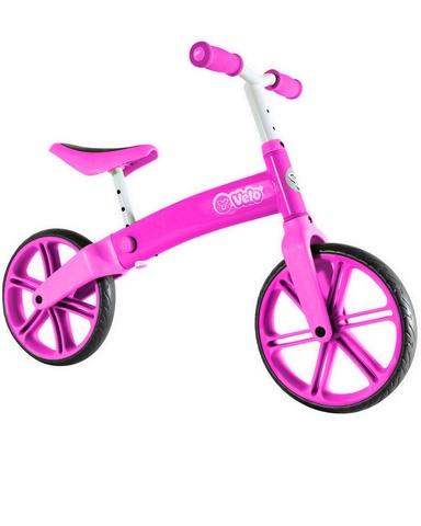 Беговел Yvolution Velo Balance розовый для девочек от 3 лет