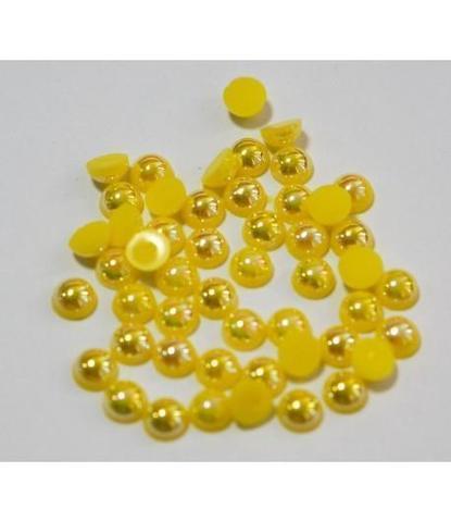 116 Стразы круглые желтые 50 шт