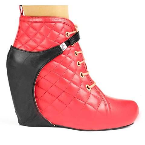 Автопятка для женской обуви на танкетке до 4-7 см (Черный)