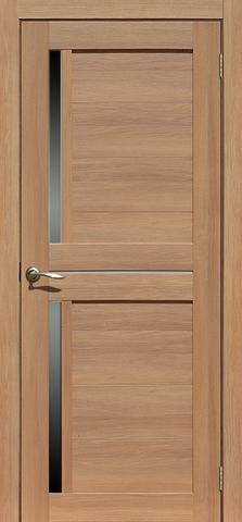 Дверь La Stella 222, стекло матовое, цвет дуб сантьяго, остекленная