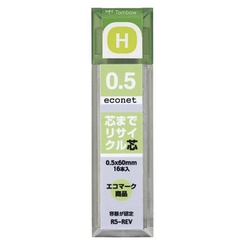 Грифели 0,5 мм Tombow Econet H