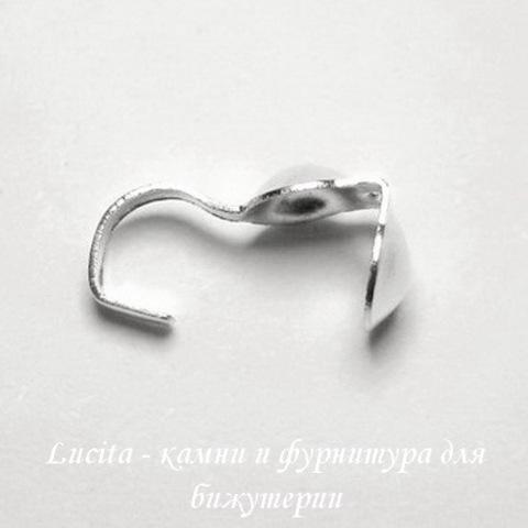 Каллоты 8х3,5 мм (цвет - серебро), 20 штук