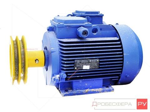 Электродвигатель со шкивом С415М