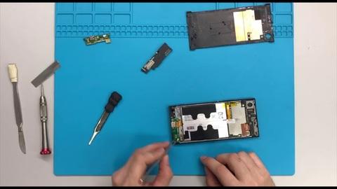 Замена разъема зарядки на Sony (Работа по установке)