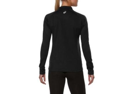 Женская рубашка для бега Asics Ess Winter Zip (114639 0904)