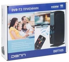 Цифр. приемник DVB-T2 DENN DDT103