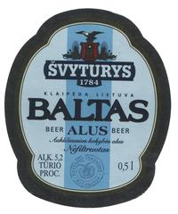 Пиво Svyturys White Baltas