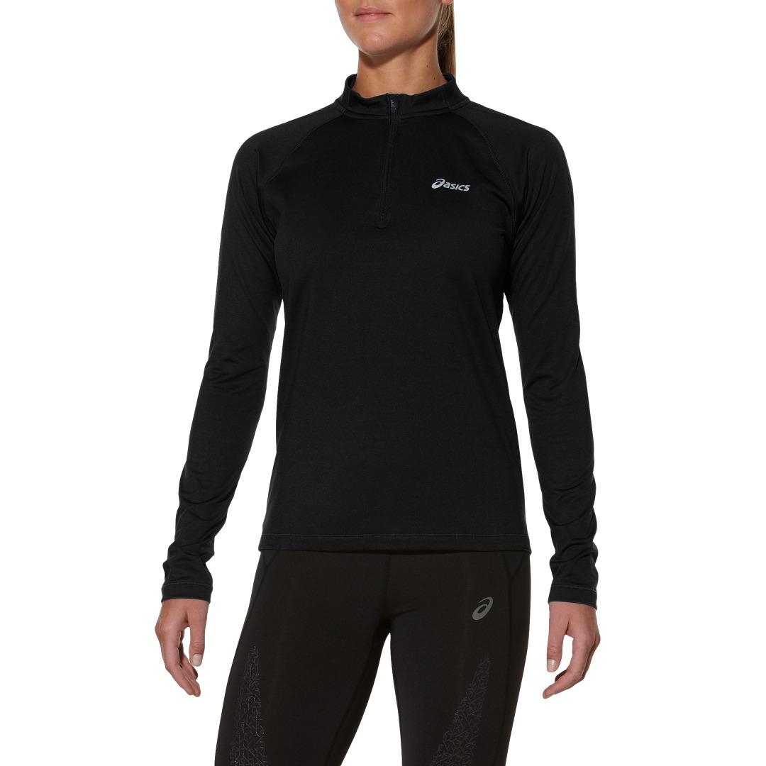 Женская беговая рубашка Asics Ess Winter Zip (114639 0904)