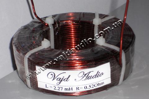 Катушка индуктивности Vajd Audio  2.27 mH* 0.52  Оhm* 1.32 mm