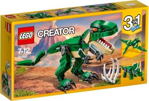 LEGO Creator Грозный динозавр 31058
